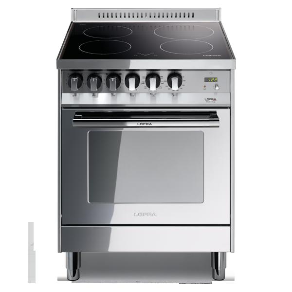 Cucina elettr ad induzione 60x60 inox lucidato classe a forno elettr lofra ebay - Forno a induzione consumi ...