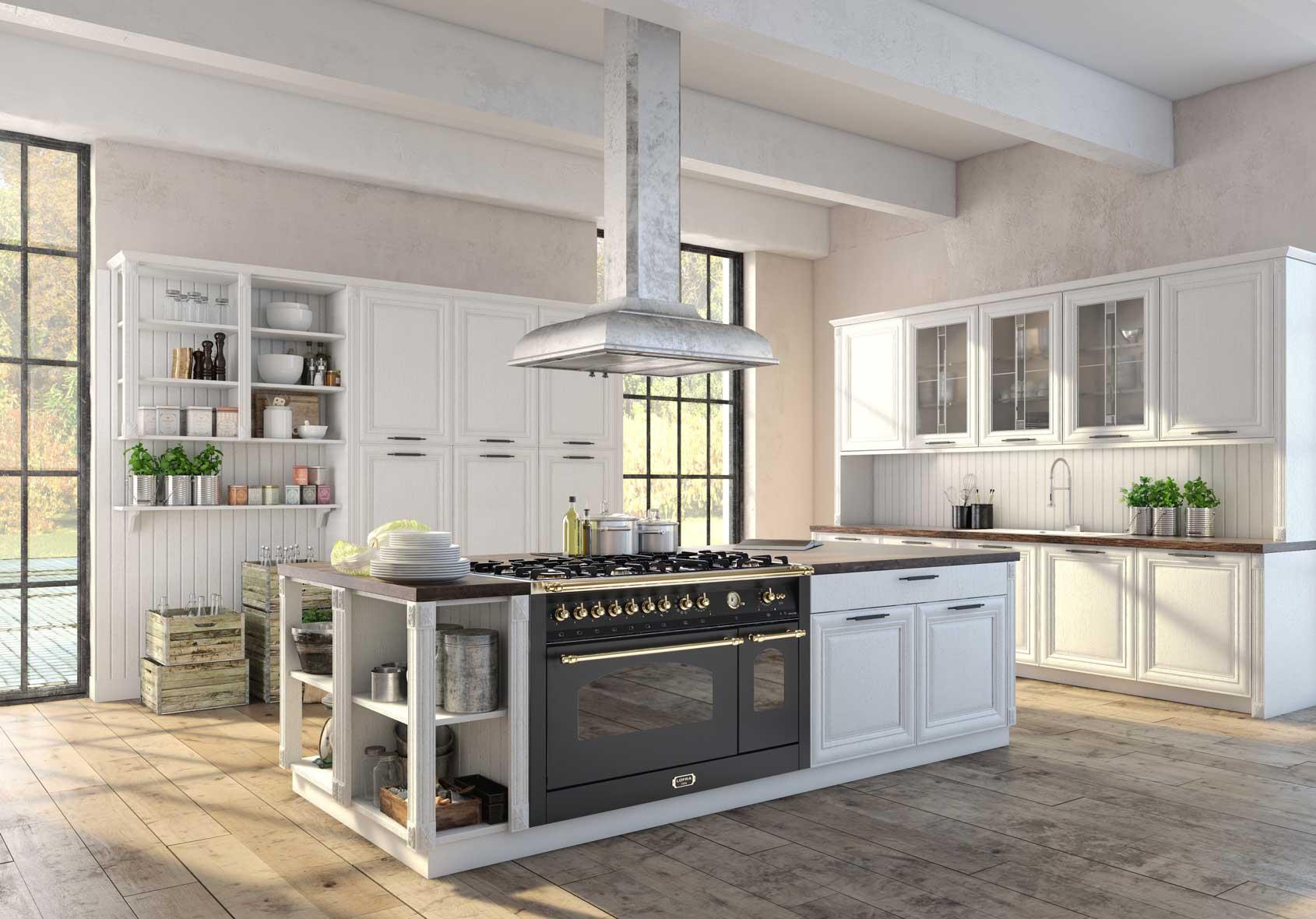 Cucina Dolcevita 120. stile Rustico/Cowntry - Lofra