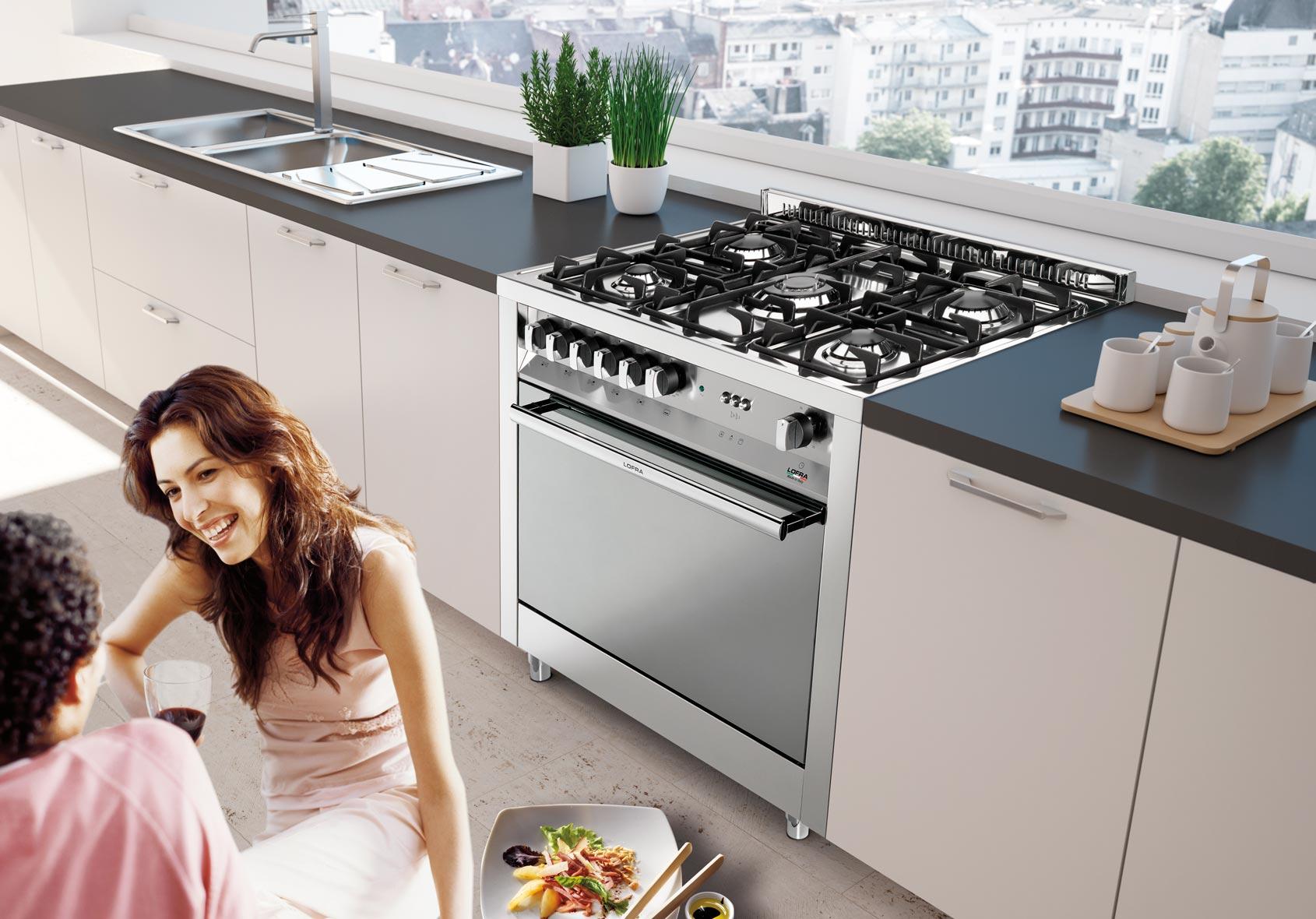 Cucina, stile contemporaneo - Lofra
